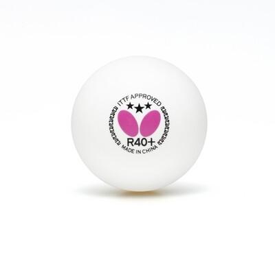 Мячи Butterfly пластиковые *** R40+ 12 шт.