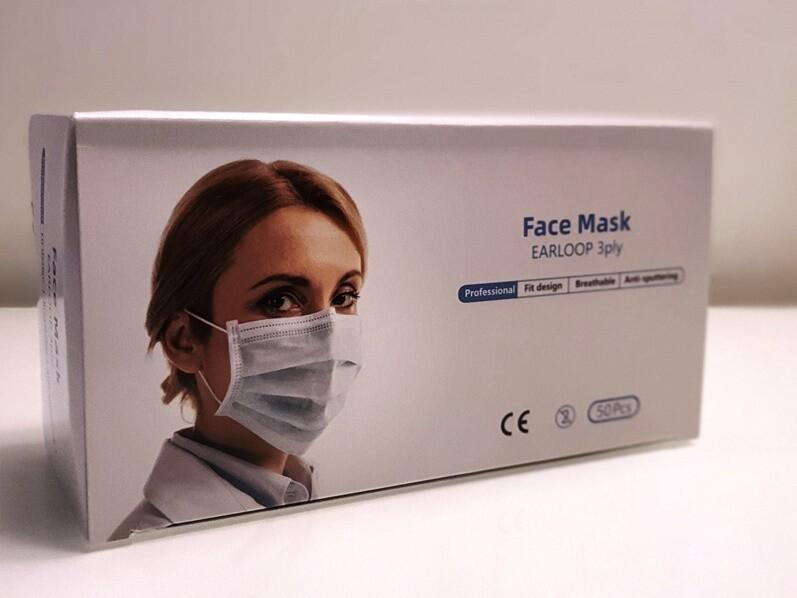 Medizinische Masken - 50 Stück