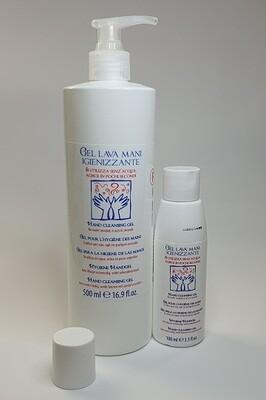 Gel Lava Mani, desinfizierndes Handgel - Duo ( 100 & 500 ml)