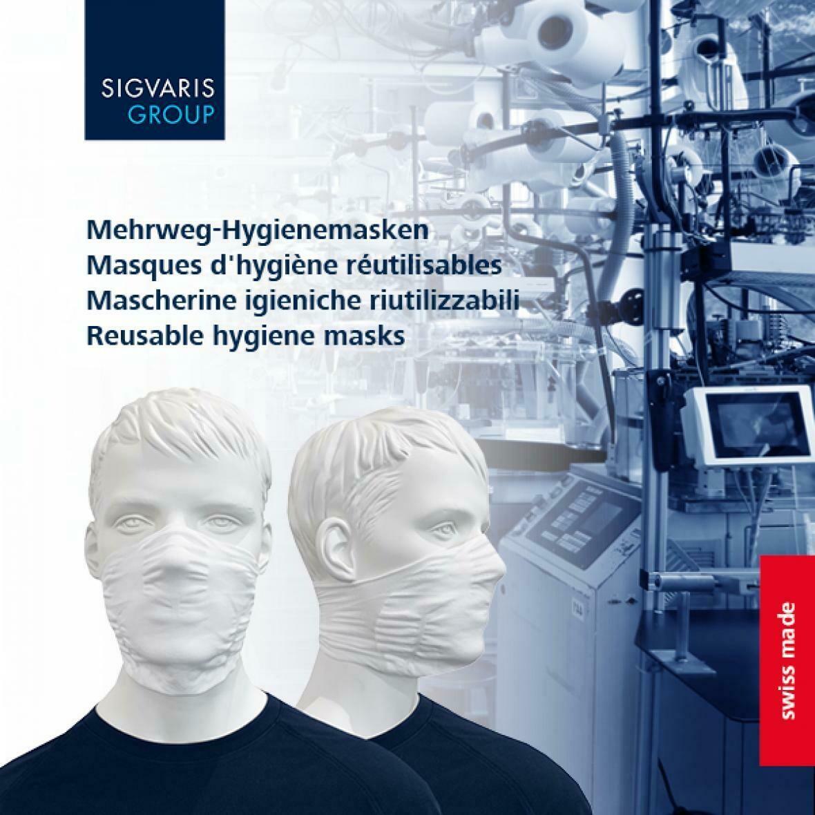 Mehrweg-Hygienemaske - 2 Stück