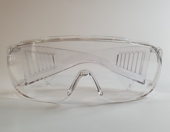 Schutzbrille mit Bügeln von 3M