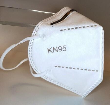 ZertifizierteKN95-Atemschutzmaske ohne Ventil - 20 Stück