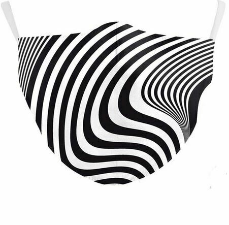 Community Maske Zebrawellen Erwachsene