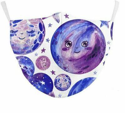 Community Maske Mond&Sterne Erwachsene