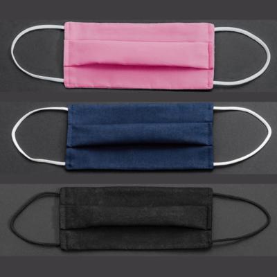Empa-geprüfte Community-Maske Baumwolle/Polyester uni in 3 Varianten - 1 Stück