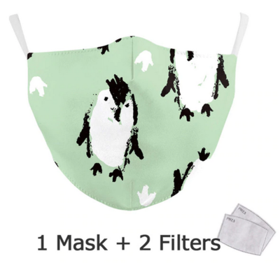 Community Maske Erwachsene Pinguin gross