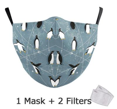 Community Maske Erwachsene Pinguine