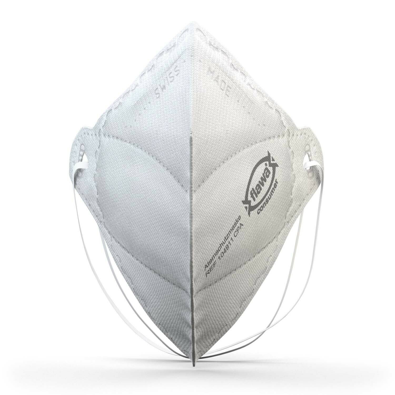 Flawa CPA Atemschutzmaske mit Kopfgummi swiss made