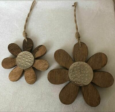 Fleurs en bois