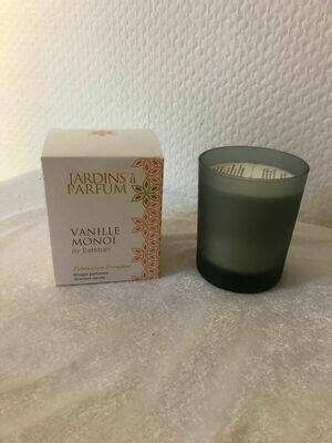 Bougie parfum vanille monoï