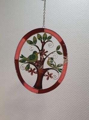 Suspension oiseaux sur arbre