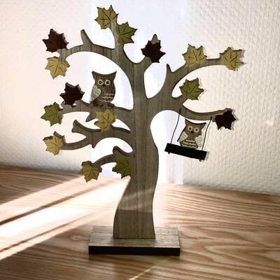 Décoration arbre automne