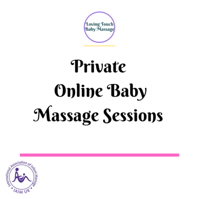 Online Private 5 Week Baby Massage Course