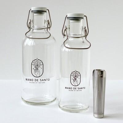 Flip-Top Bottle