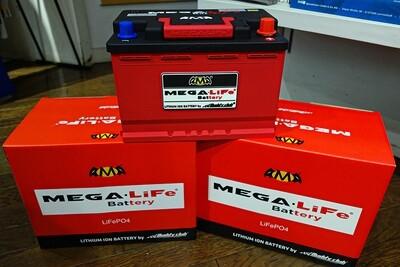 MEGA Life リチウムイオンバッテリー