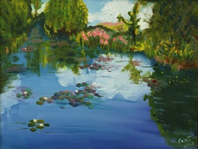 Monet's Garden in May