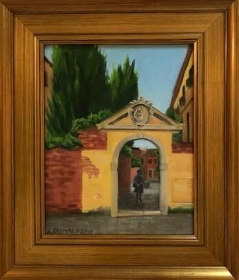 Venice Archway and Passage in Dorsoduro