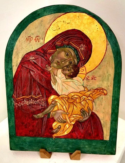 Tenderness Mother of God - Icon