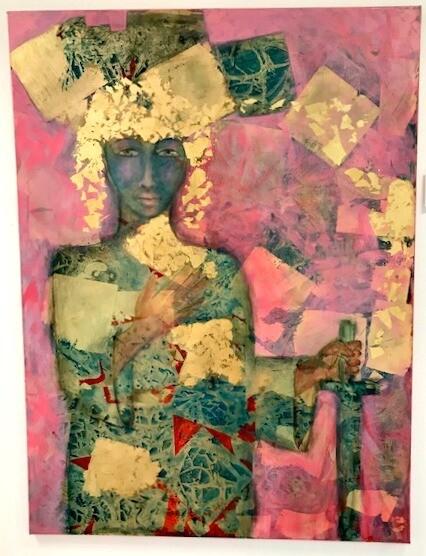 Priestess with Sword