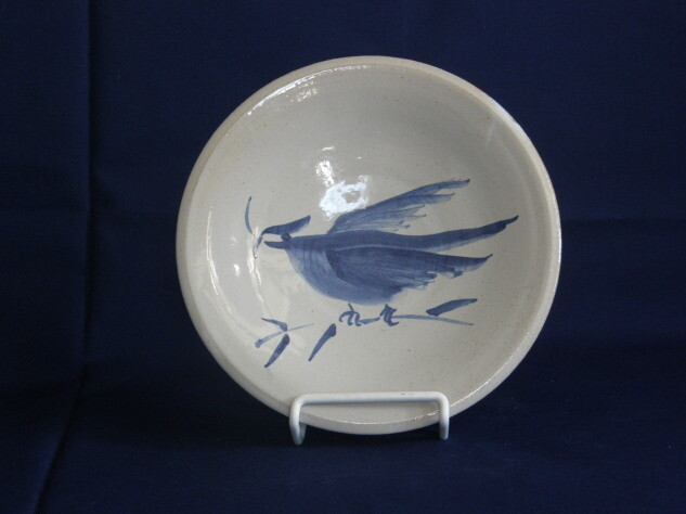 Plate with Delft Bird