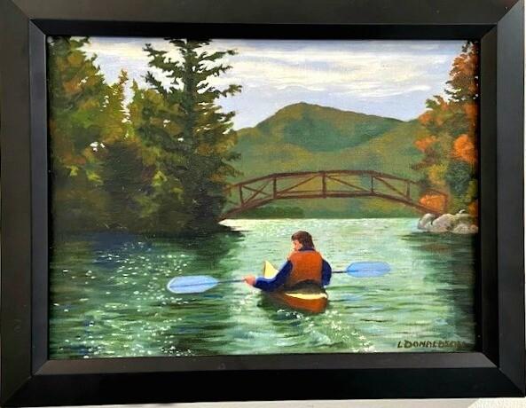 Fall Kayaking on Lake George