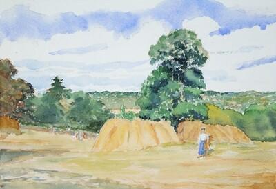 Monet's Harvest