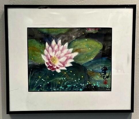 Sparkling Lotus Blossom