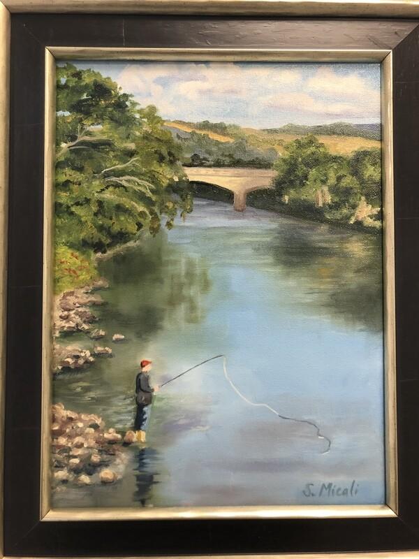Fishing on the River Tummel
