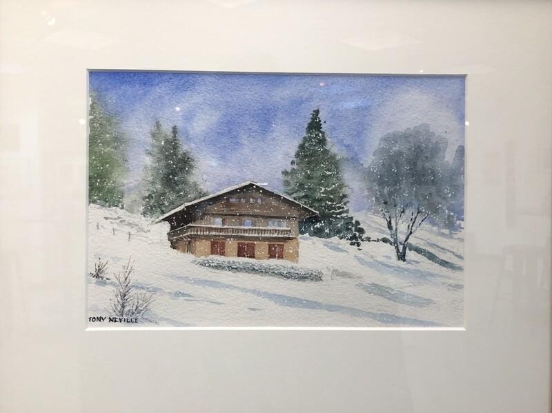 Alpine Chalet Snows