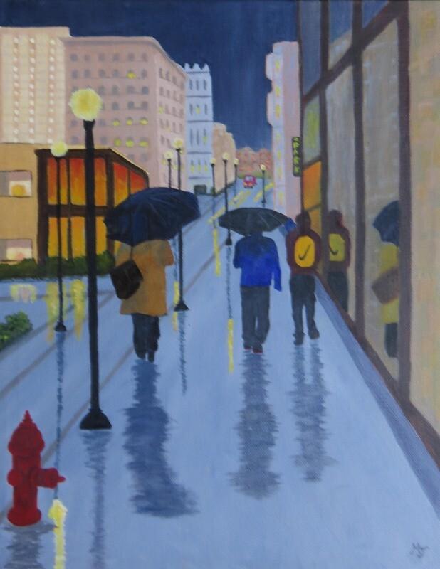 Rainy Winter Day