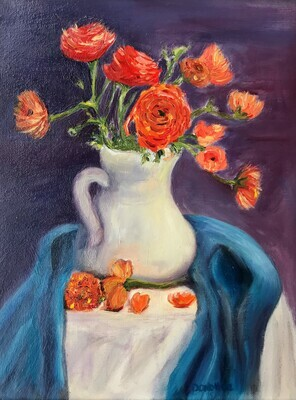 Draped Vase