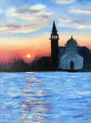 Sunrise on the Canal della Giudecca