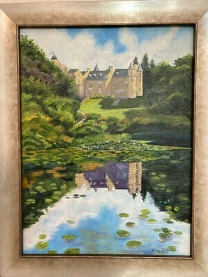 Glenapp Castle (from Azalea Pond, Scotland)