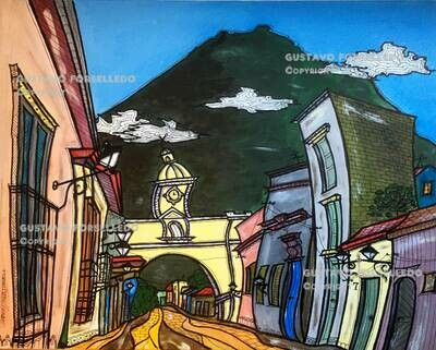 Volcan de Agua - Antigua