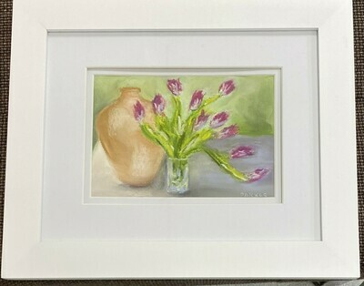 Tulips and Urn