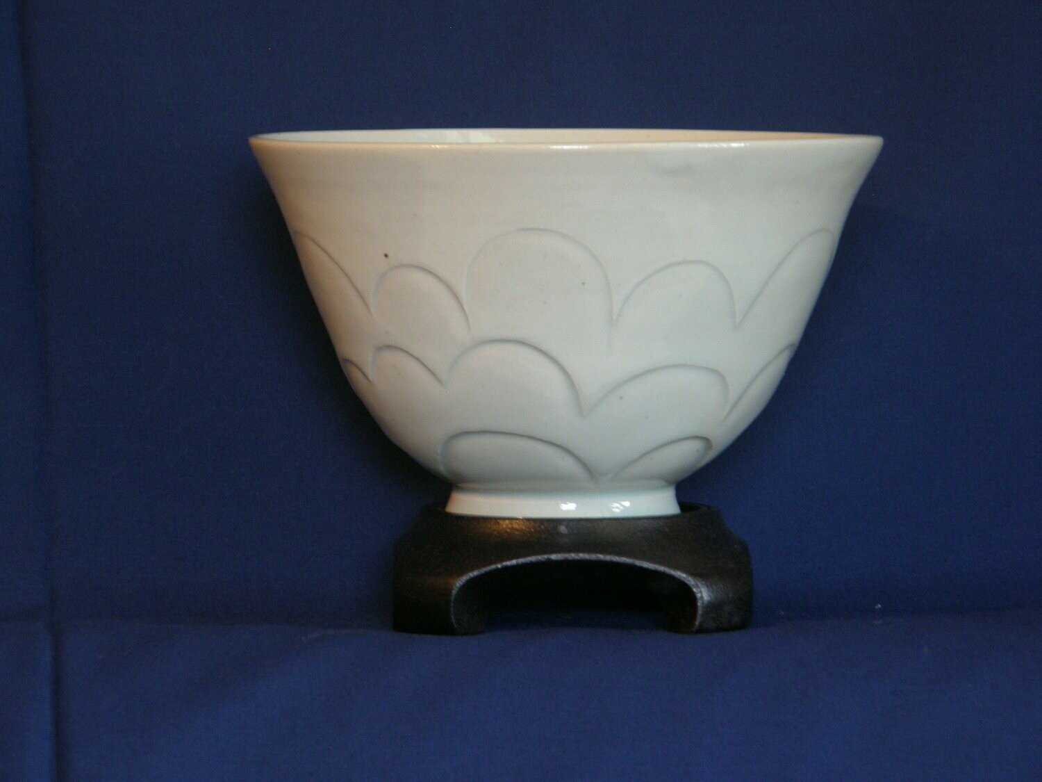 Bowl with Cloud Carving