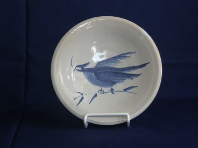 Plate with Bird Design