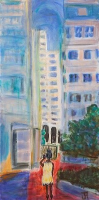 Across From Ballston Casbah with Matisse Overlay