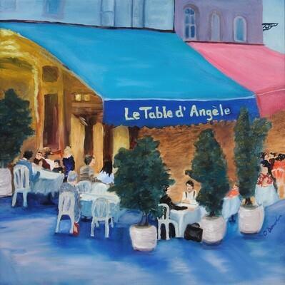 Le Table d'Angele