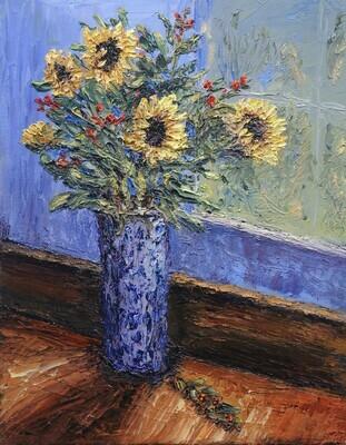 Sunflowers in the Window