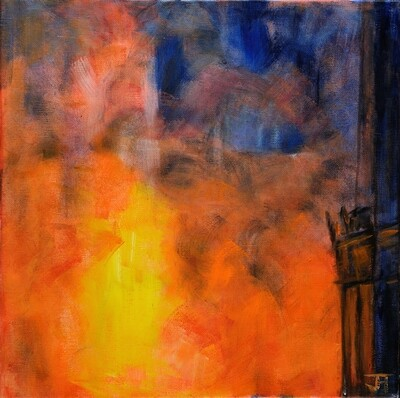 The Burning of Notre Dame 2
