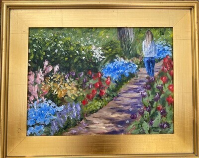 Strolling on the Garden Path