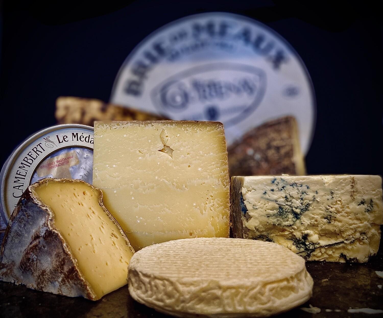 Découverte internationale 5 fromages