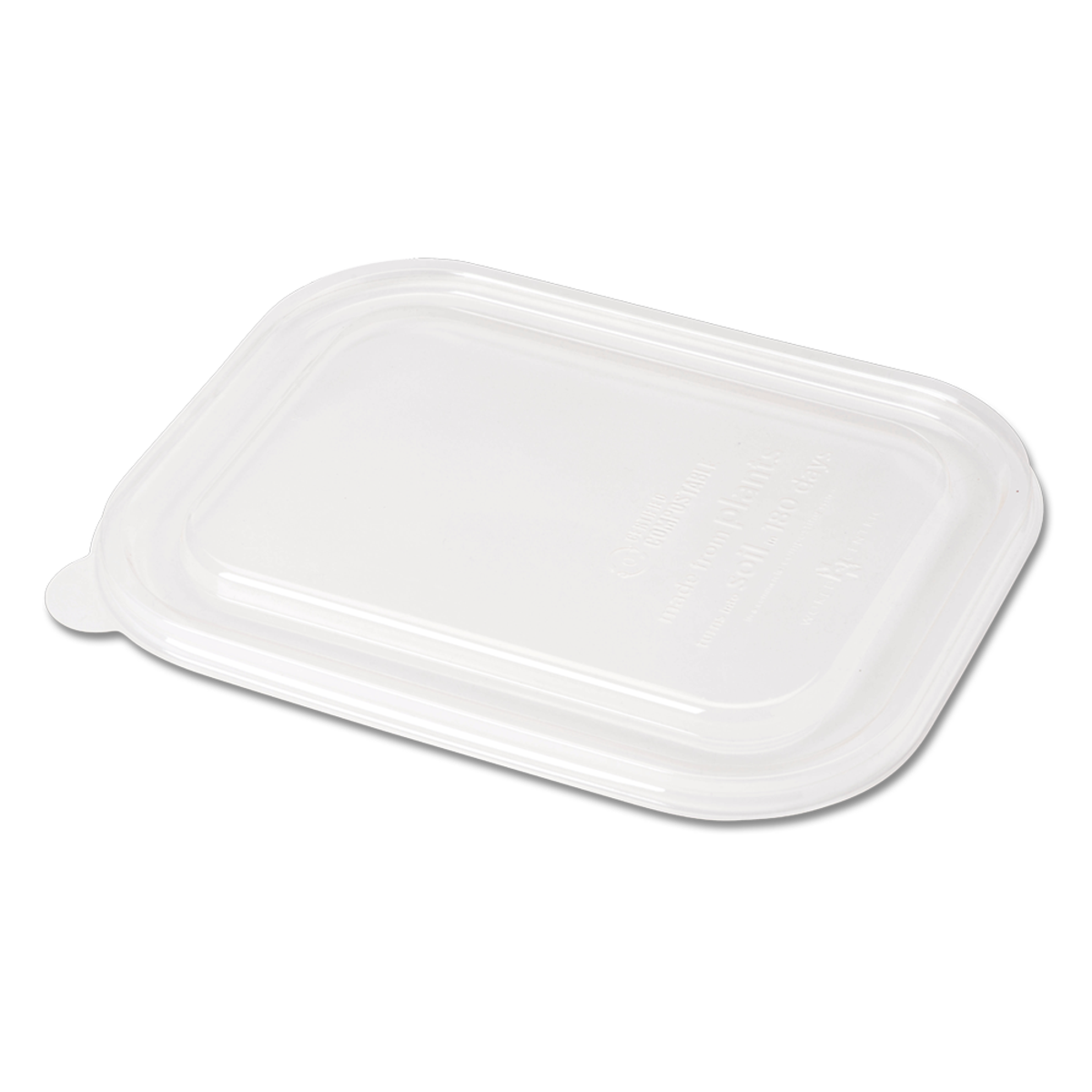Case of 400 Plant Fiber Box Lids