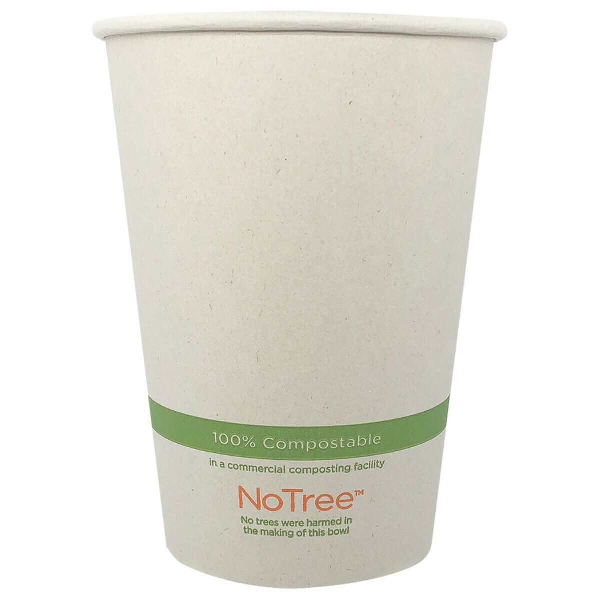 Case of 500 Units or Pack of 25 Units of Paper Bowl NoTree 32 oz