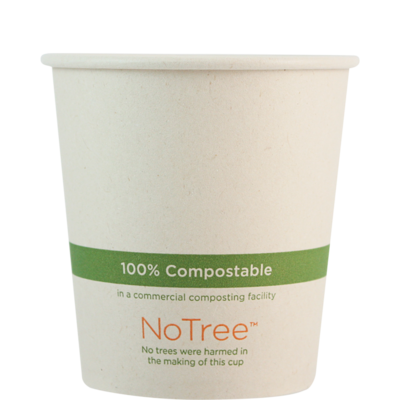 Case of 1000 Units or Pack of 50 Units of Paper Hot Cup NoTree 10 oz