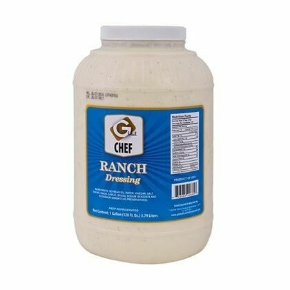 1 Gallon of Dressing Ranch Chef's Choice