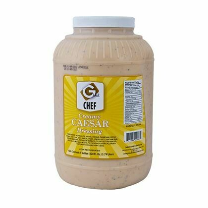 Chef's Choice Caesar Dressing 4 x 1 gallon