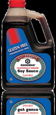 Gluten Free Soy Sauce Kikkoman