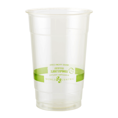 Pack of 50 Clear Cups 20 oz